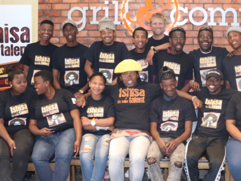 Read about the exciting journey of Tshisa Talent's Winners in Kouga